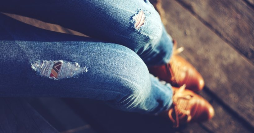 Stylové džíny